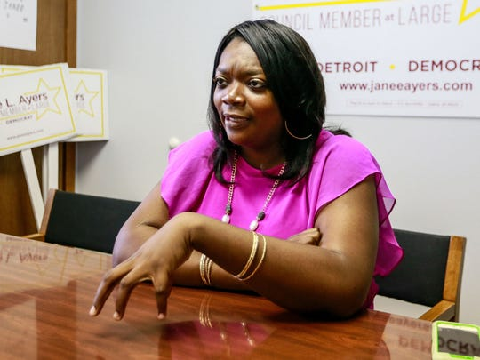 Janee L. Ayers is running for Detroit council member