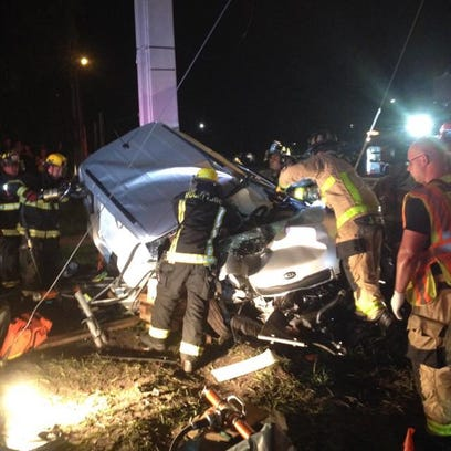 BCFR responded to a crash that injured three in Rockledge.