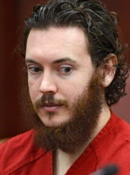 James Holmes, the suspect in the 2012 Aurora, Colo.,