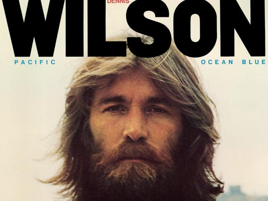 """The cover to Dennis Wilson's """"Pacific Ocean Blue."""""""