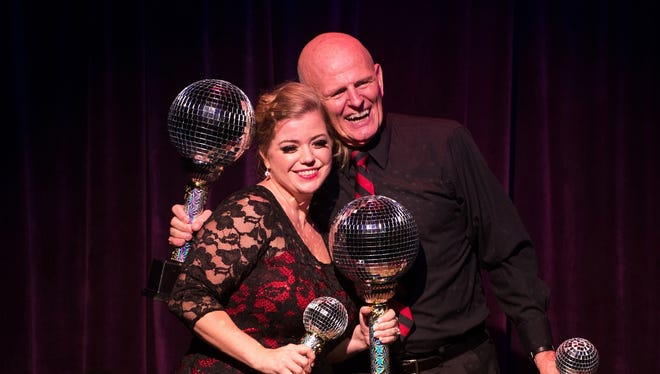 Rachel Terlizzi, with her partner Bob Murray, was the grand prize winner of the 2014 Dancing with the Martin Stars.