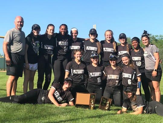 Plymouth won its first KLAA Association softball championship