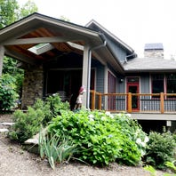 Home of the Week: Florida retirees enjoy 'living in the trees' in Black Mountain