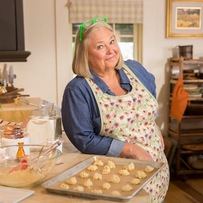 Host Nancy Fuller poses for a portrait for the Food Network's Farmhouse Rules, Season 3.