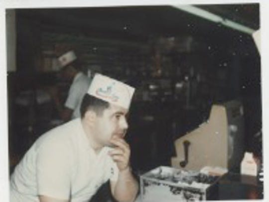 Bill Skenteris at Palmetto Fine Foods in the 1970s.