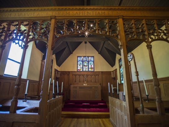 The chapel in the home of Episcopal Bishop Tom Ely