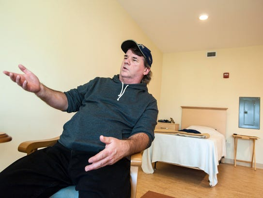 Bruce Butland, who was homeless, now lives in a subsidized