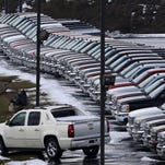 New-car sales are running at near-peak levels, partly because many consumers are financing their purchases for longer terms. Experian, the Ireland-based information services company, reports that the average new car loan has reached a record 67 months.