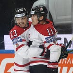 Canada beats U.S. 4-3 to set up final with Finland
