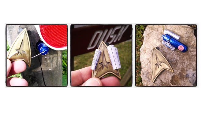 Photos from a quick geocaching adventure in Fishersville.