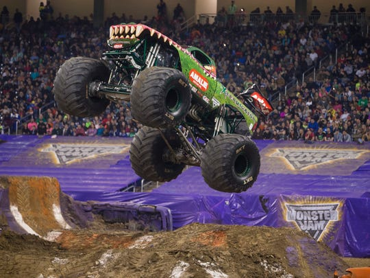 Xtermigator is one of the monster trucks touring with Monster Jam this season. The show rolls into Evansville Friday and Saturday.