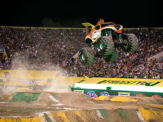Monster Mutt is a crowd favorite for Monster Jam, which