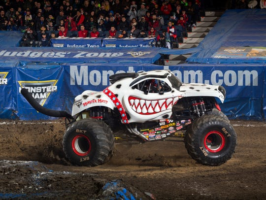 The Monster Mutt Dalmation at Monster Jam.