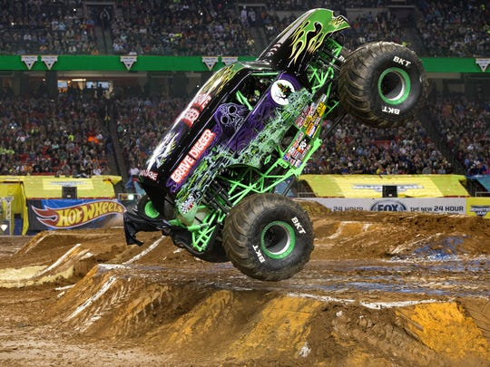 Grave Digger is one of the sets of wheels that'll be