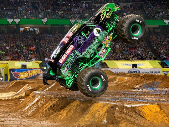 Super-truck favorite Grave Digger will be at Monster