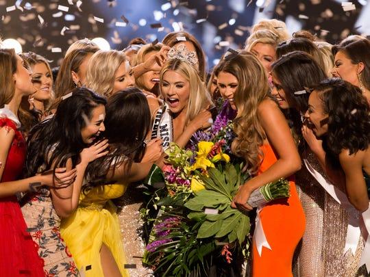 Miss USA crowned a winner, Miss Nebraska Sarah Rose Summers, in 2018.