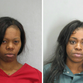 Police arrested (L) Bianca Jackson and Kenya Crawley for assaulting officers and shoplifting at Tyson's Corner.
