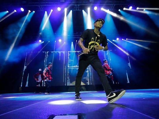 Chris Brown performed in June at the El Paso County Coliseum before a loud crowd of over 3,000 fans.
