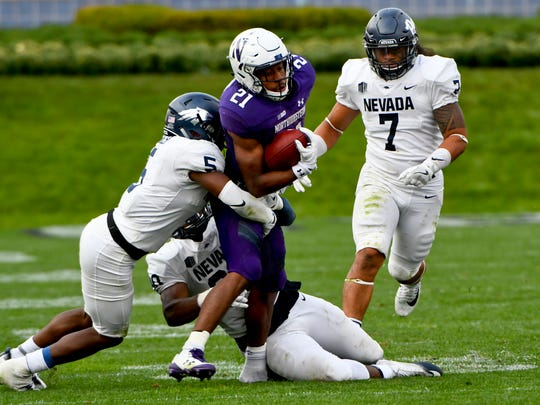 Nevada's most recent outing against the Big Ten came in the 2017 season-opener, a 31-20 loss on the road.