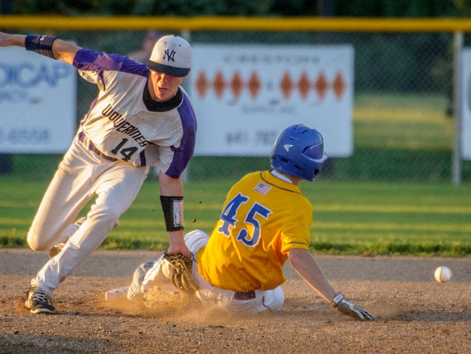 singles in martensdale One strike from win, north butler drops heartbreaker  under the tag of martensdale st mary's sam norris during  by back-to-back infield singles.