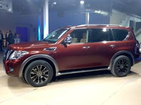Nissan unleashes rugged, refined, redesigned Armada SUV