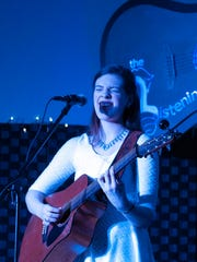 """Emily Keener performed four sold-out shows at The Listening Room in Port Clinton over the weekend. Keener, 17, is a native of Wakeman and had performed several times at the venue before she auditioned for NBC's """"The Voice"""" this winter and had all four coaches' chairs turn."""