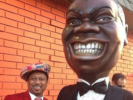 New Orleans trumpeter Kermit Ruffins will pay tribute to his greatest influence, Louis Armstrong, this weekend in Brooklyn, NY.
