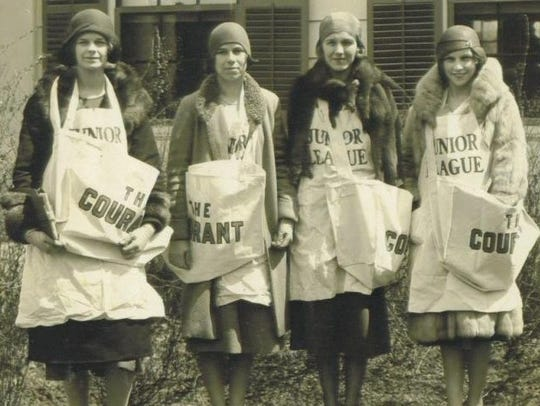 Junior League members from New York City in the 1920s.