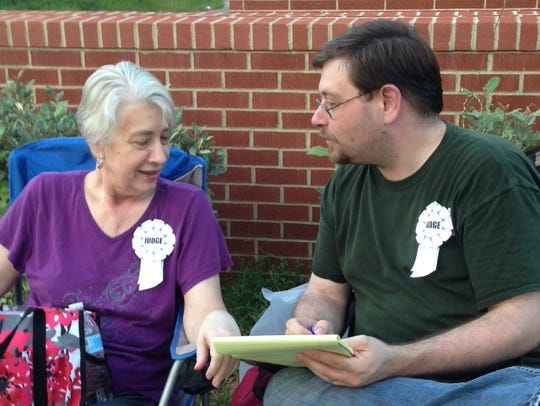 Dale and Donna Popp at last year's Houston County Relay