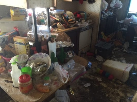 Unsanitary conditions were found inside a Tonopah home