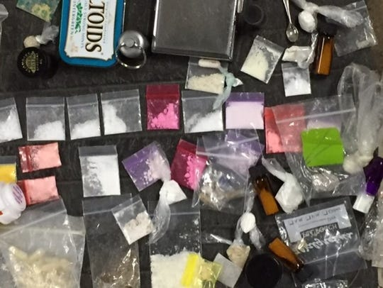 Drugs seized during the Okeechobee Music & Arts Festival