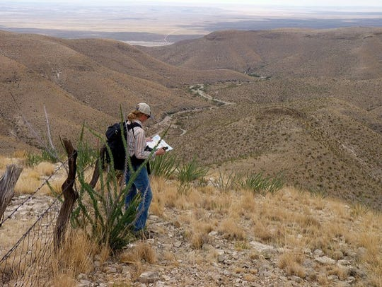 BLM maps and GPS units help hikers navigate to their