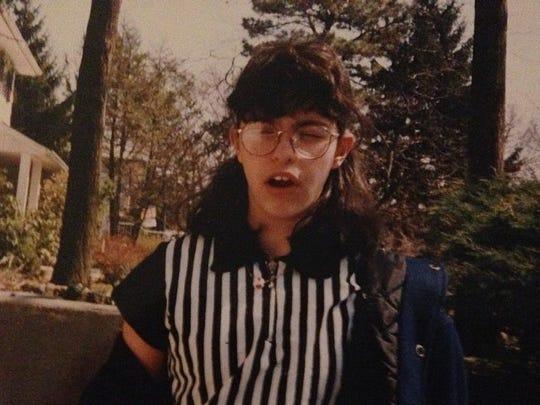 Me, age 12. I needed zero help humiliating myself,