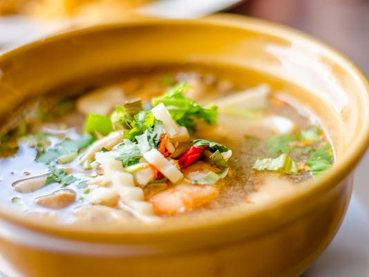 Spicy Soup with Shrimp (Tom Yum Goong)