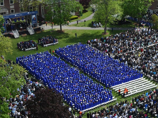 More than 1,800 undergraduates gathered for the State