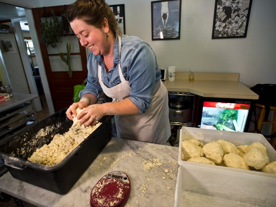 """Ren Weiner smiles when she hears people describe her doughnuts. """"You don't feel like you just ate a doughnut,"""" is one she hears a lot and that's because her ingredients aren't your typically ones, she says."""
