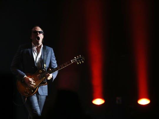Joe Bonamassa performs at Comerica Theatre on Thursday, April 30, 2015, in Phoenix.