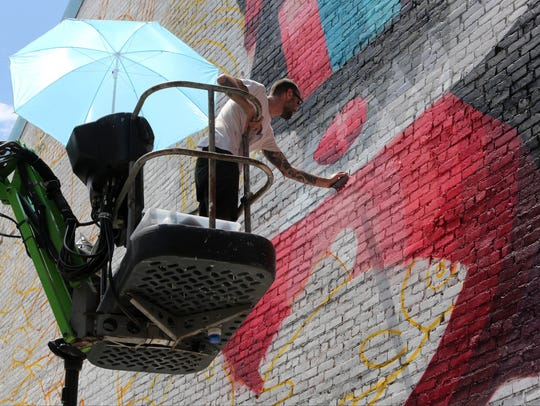 Eelco van den Berg, an artist from the Netherlands,