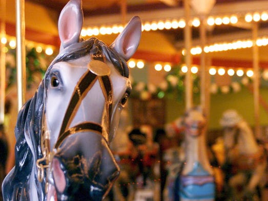 - The Carousel at Casino Pier in Seaside Hts..