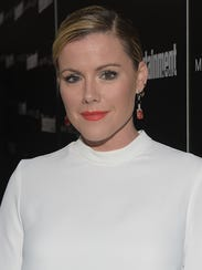 Actress Kathleen Robertson, who starred in the TV mini-series