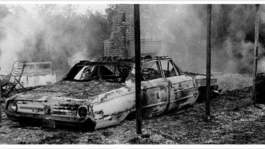 The Ku Klux Klan attacked Vernon Dahmer Sr. and his