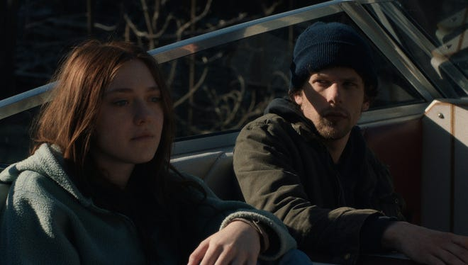 """Dakota Fanning and Jesse Eisenberg in a scene from the upcoming motion picture """"Night Moves."""""""