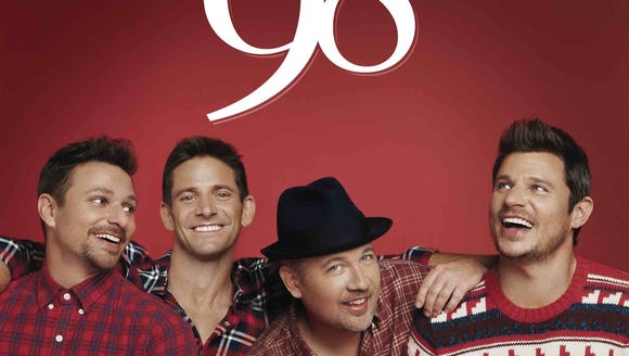 98 Degrees is bringing their Christmas tour to the