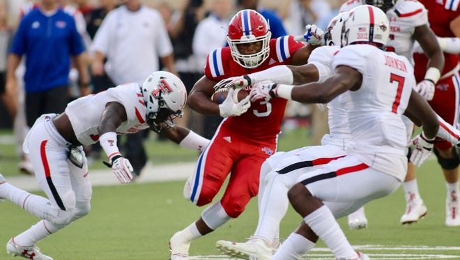 Louisiana Tech running back Jarred Craft had a career night against Texas Tech with his first 100-yard  game, but it wasn't enough to upend the Red Raiders.