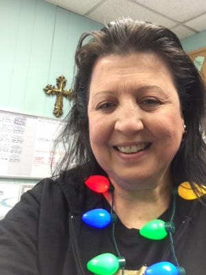 Joanne Bleecker, Executive Director of Faith Kitchen in Dover, on Christmas Day.