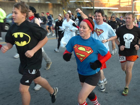 The Superhero 5K Race is part of the three-day Asheville Running Experience Aug. 19-21
