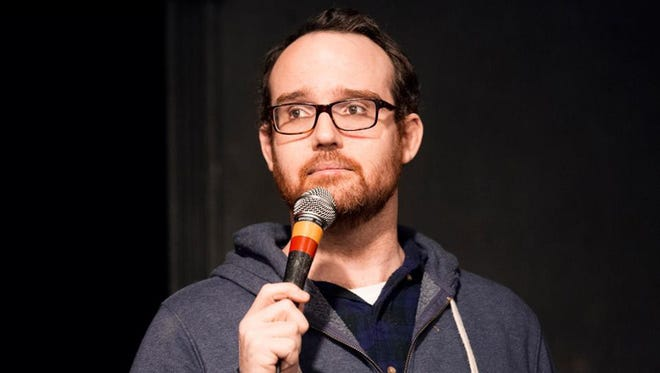 Funny Business Asheville brought Andy Sandford to The Millroom with local comics on Dec. 5, 2015.