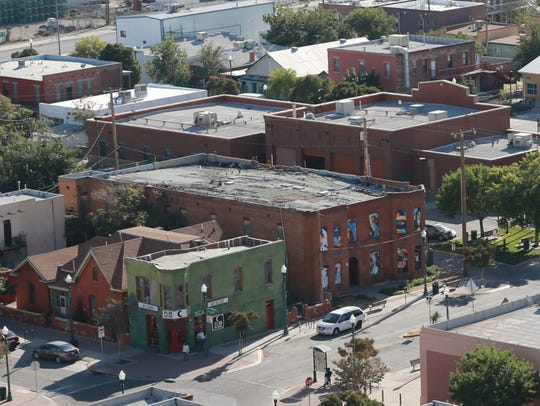 A view of the Duranguito neighborhood in Downtown's