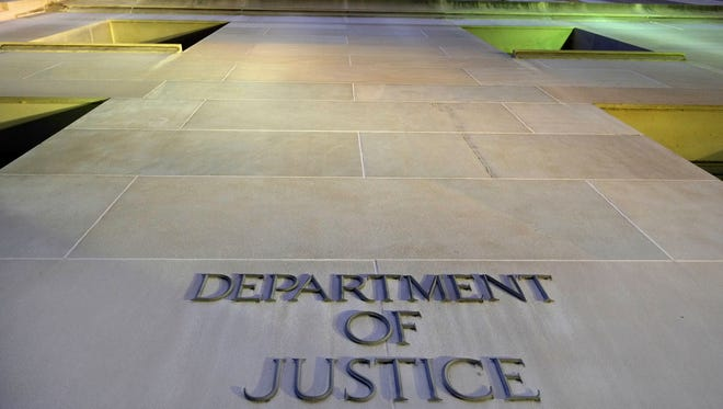 File photo taken in 2013 shows the Department of Justice headquarters building in Washington, D.C.