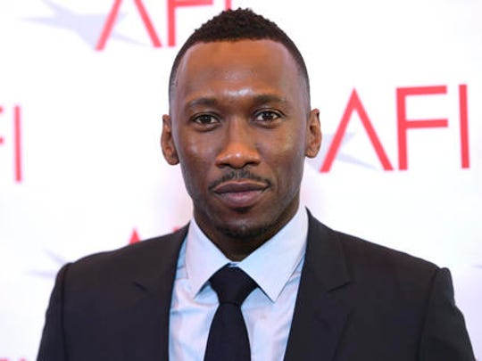 Mahershala Ali arrives at the AFI Awards at the Four Seasons Hotel on Friday, Jan. 6, 2017, in Los Angeles.